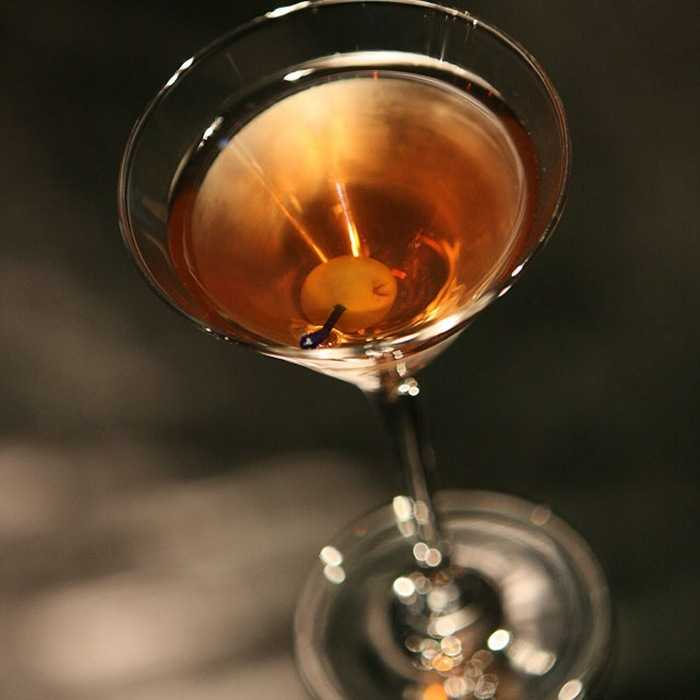 Dry Rob Roy Cocktail