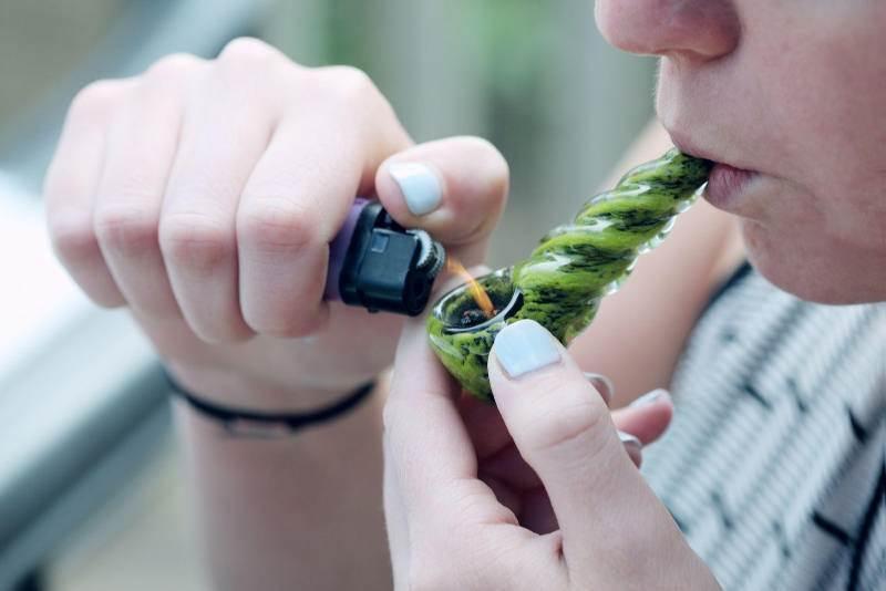 Australian Smoking Cannabis
