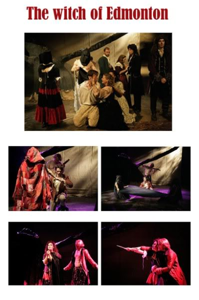 """Costume work for """"The Witch of Edmonton"""" which played a The Courtyard Theatre, London from Oct-Nov 2009"""