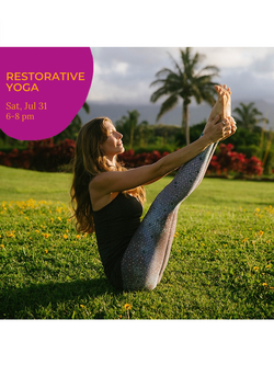 Restorative Yoga & Sound Healing w/ Tibetian & Crystal Singing Bowls - Carol Dumeyer