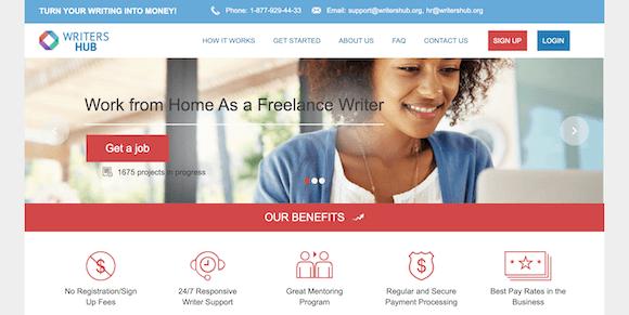 WritersHub.org Freelance Platform Review