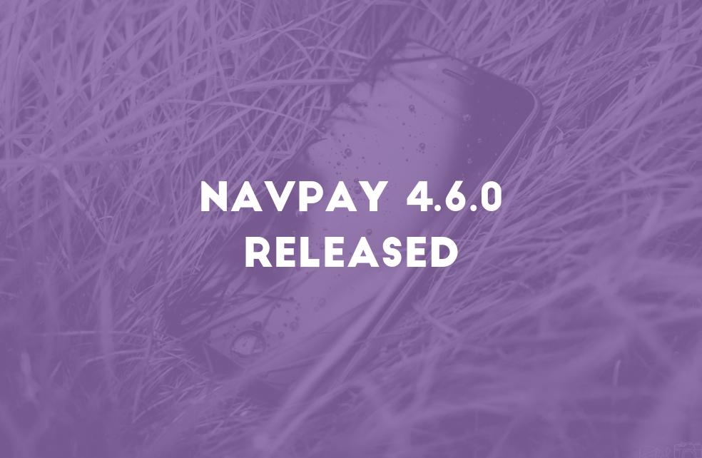 NavPay 4.6.0 Released