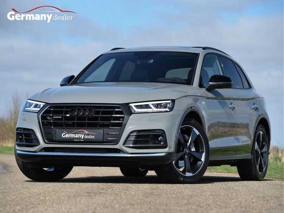 Audi Q5 2.0TFSI 252pk Quattro S-Line Black Edition Quantum! Lucht RS-Zetels Carbon Pano 360Camera 20-Inch