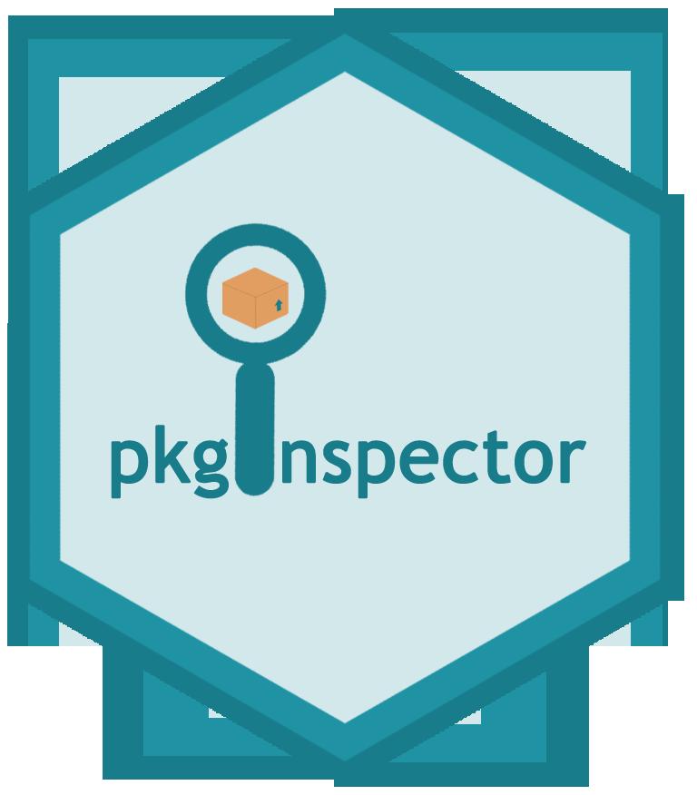 pkginspector hex sticker
