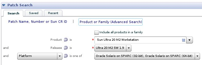 Ultra 20 M2 Download on My Oracle Support