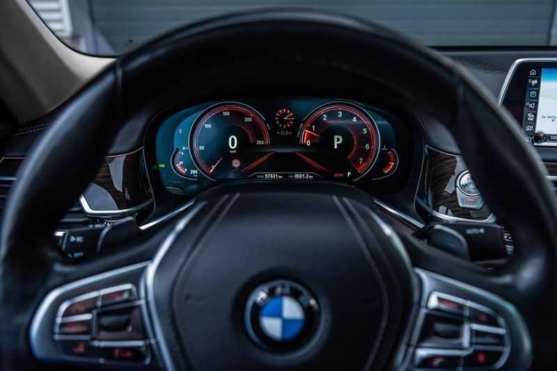 BMW 7 Serie 750i xDrive High Executive, 450 PK, Schuifdak, Gesture Control, Display/Key, Massage, Head/Up, Surround view, 56DKM!! afbeelding 17