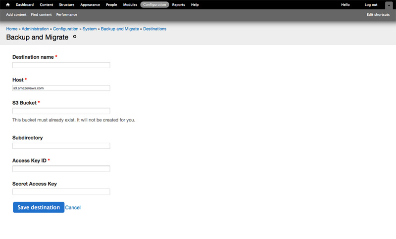Quick Tip: Syncing Databases Between Drupal Websites with Backup ...