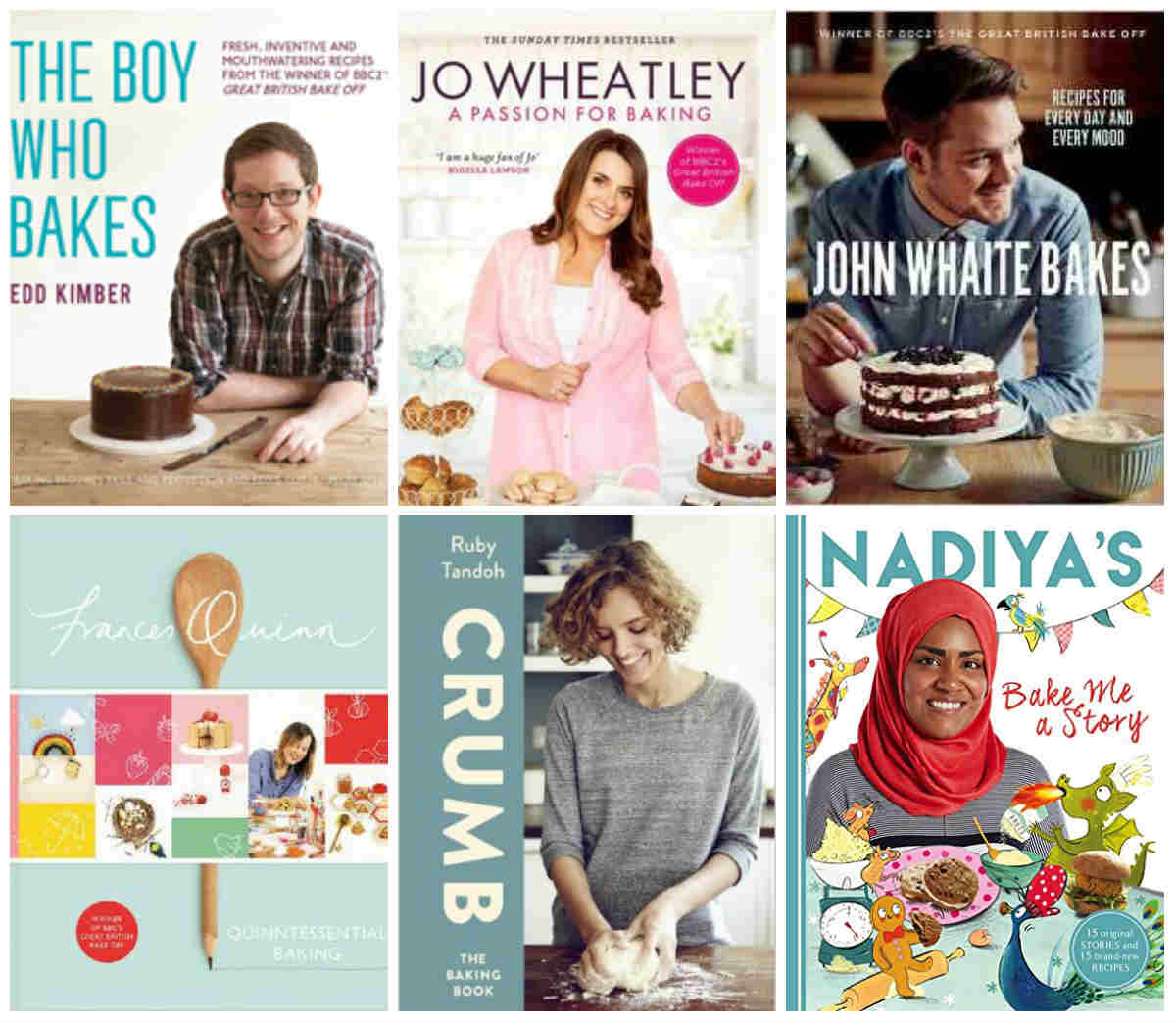 The Boy Who Bakes, A Passion For Baking, John Whaite Bakes, Quinntessential Baking, Crumb, Nadiya's Bake Me A Story