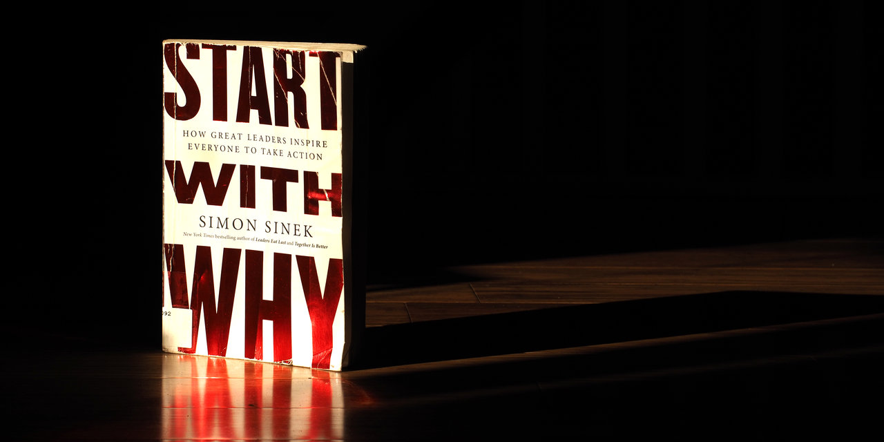 Simon Sinek's book, Start With Why
