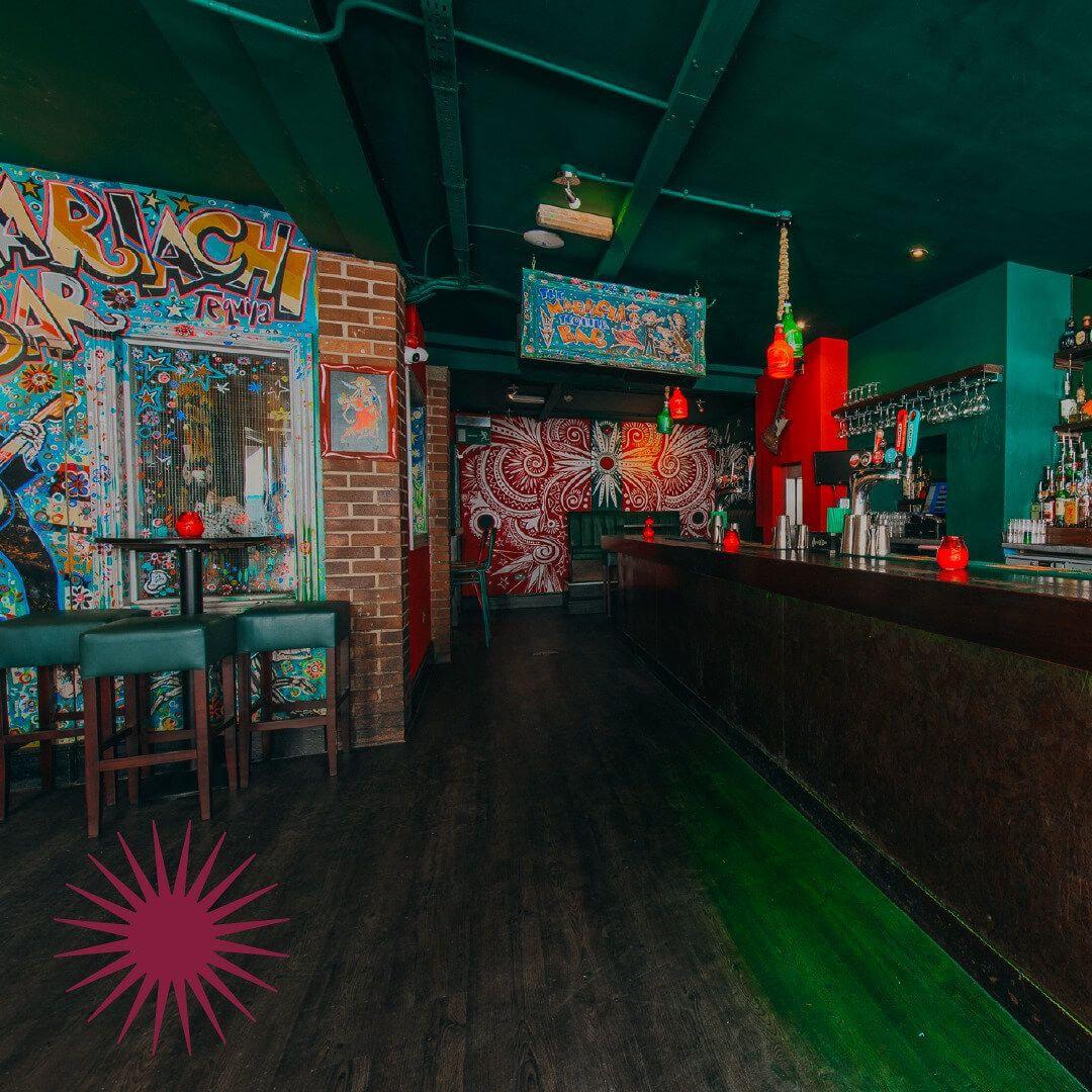 Verve Bar Leeds inside