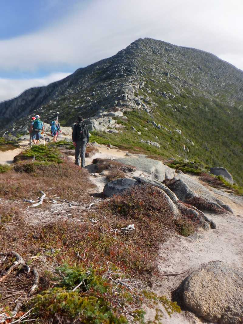 Beginning of Hunt Spur