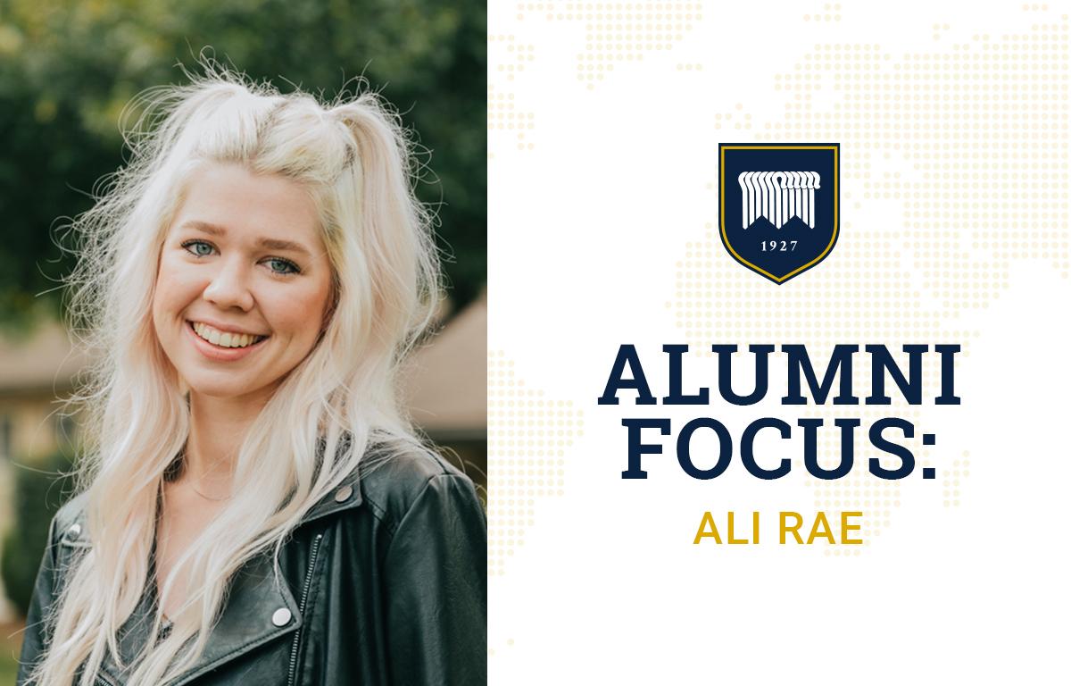 Alumni Focus: Ali Rae image