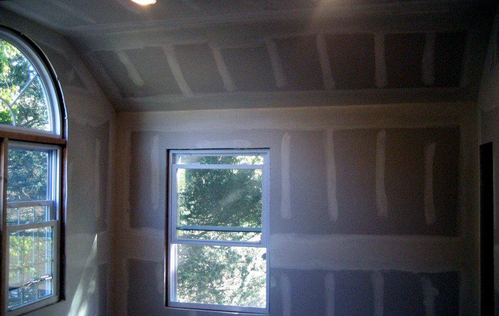 sheetrock ceiling installation