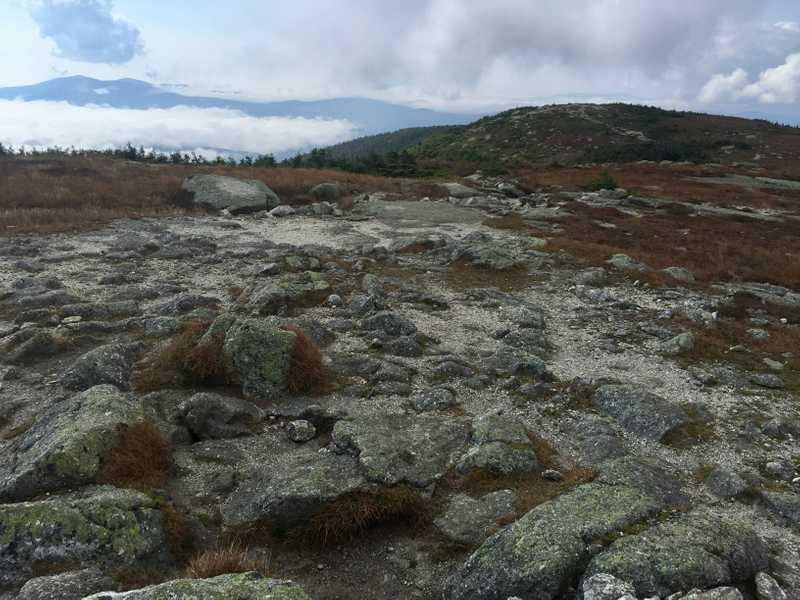 Rocks on Saddleback Mountain