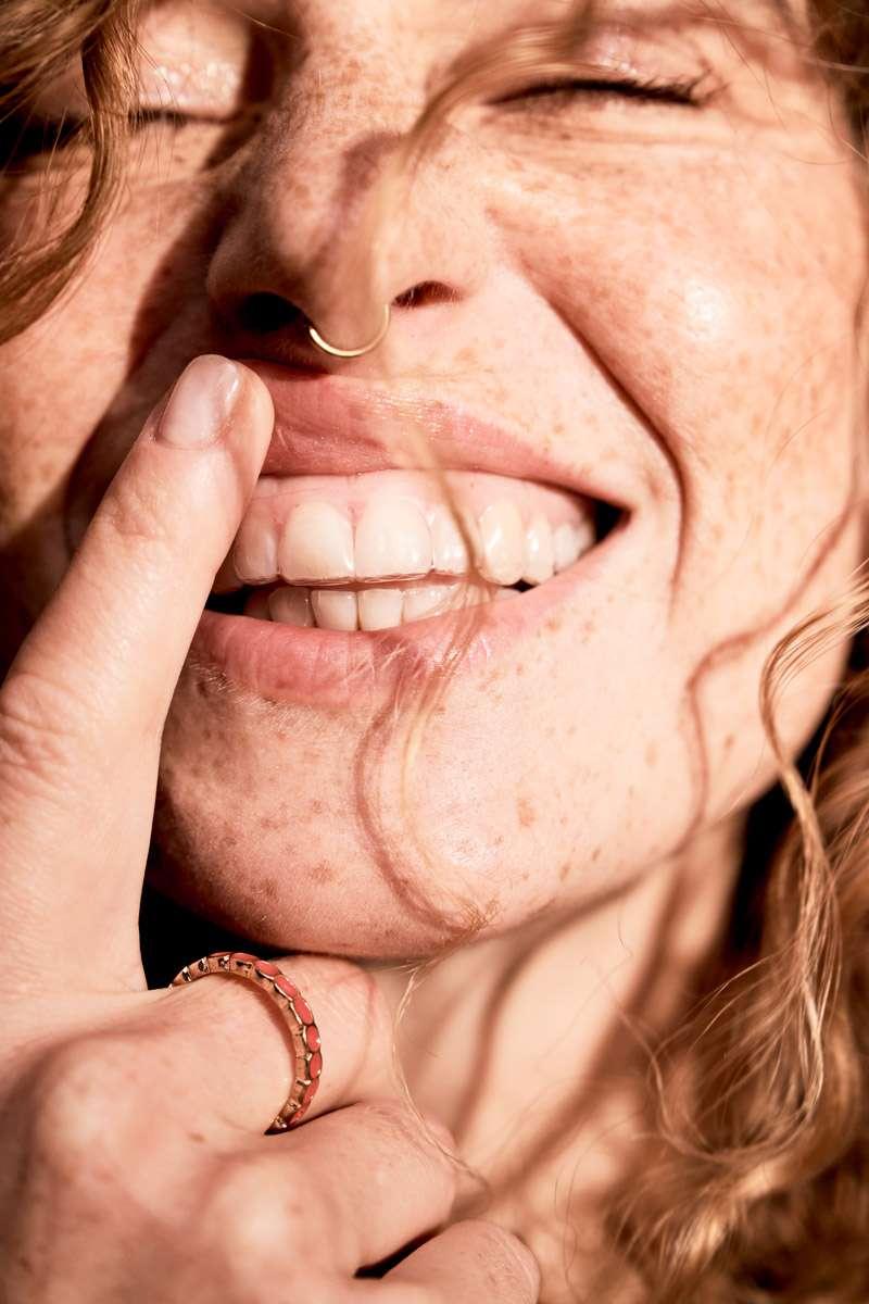 Zahnschiene Frau Herbst