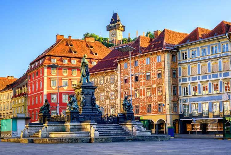Zagreb to Graz