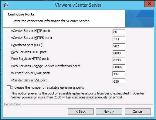 vCenter 5.5 on Windows Server 2012 R2 with SQL Server 2014 – Part 3 - 41