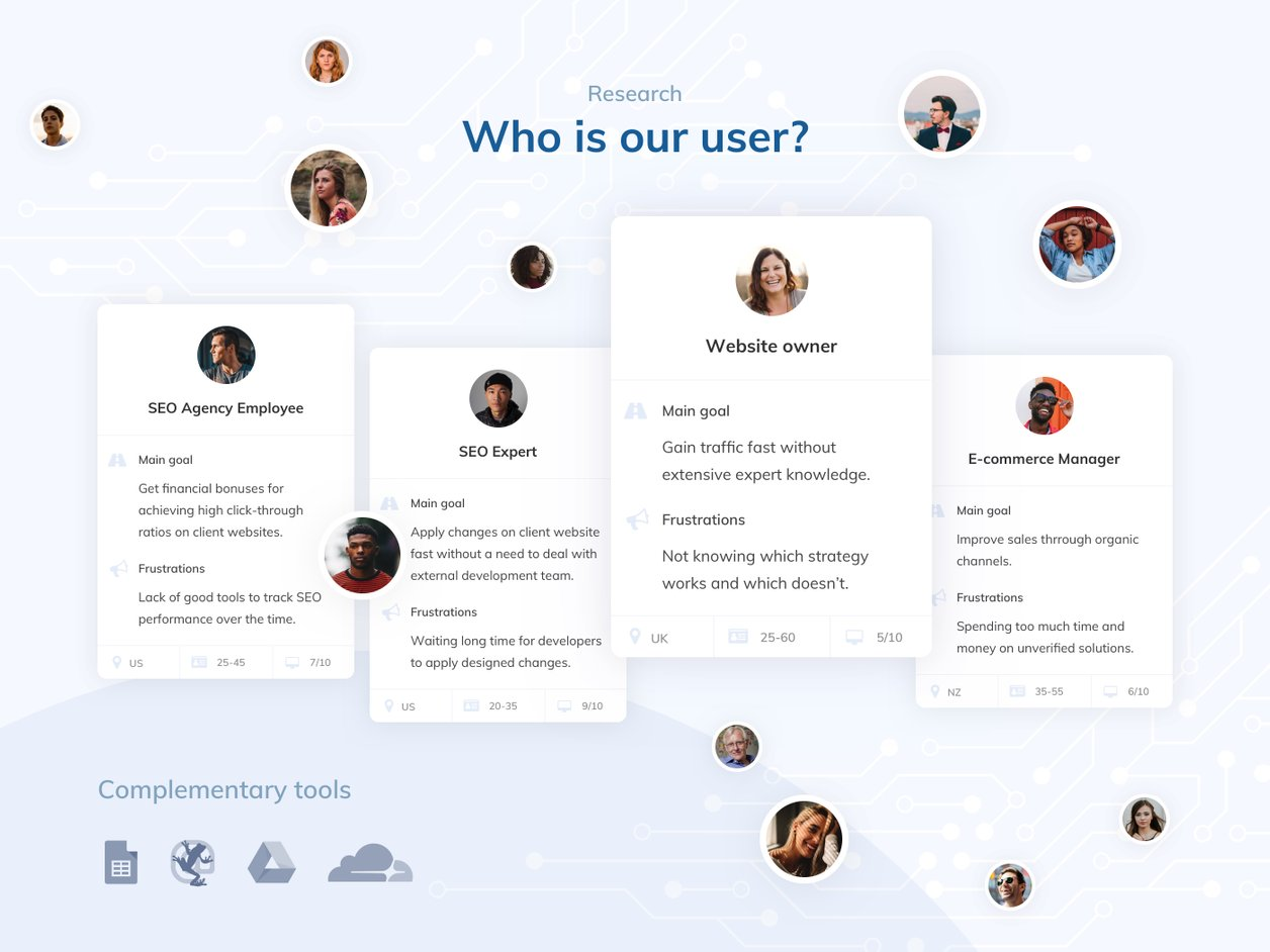 User Research - UX Design   RankSense