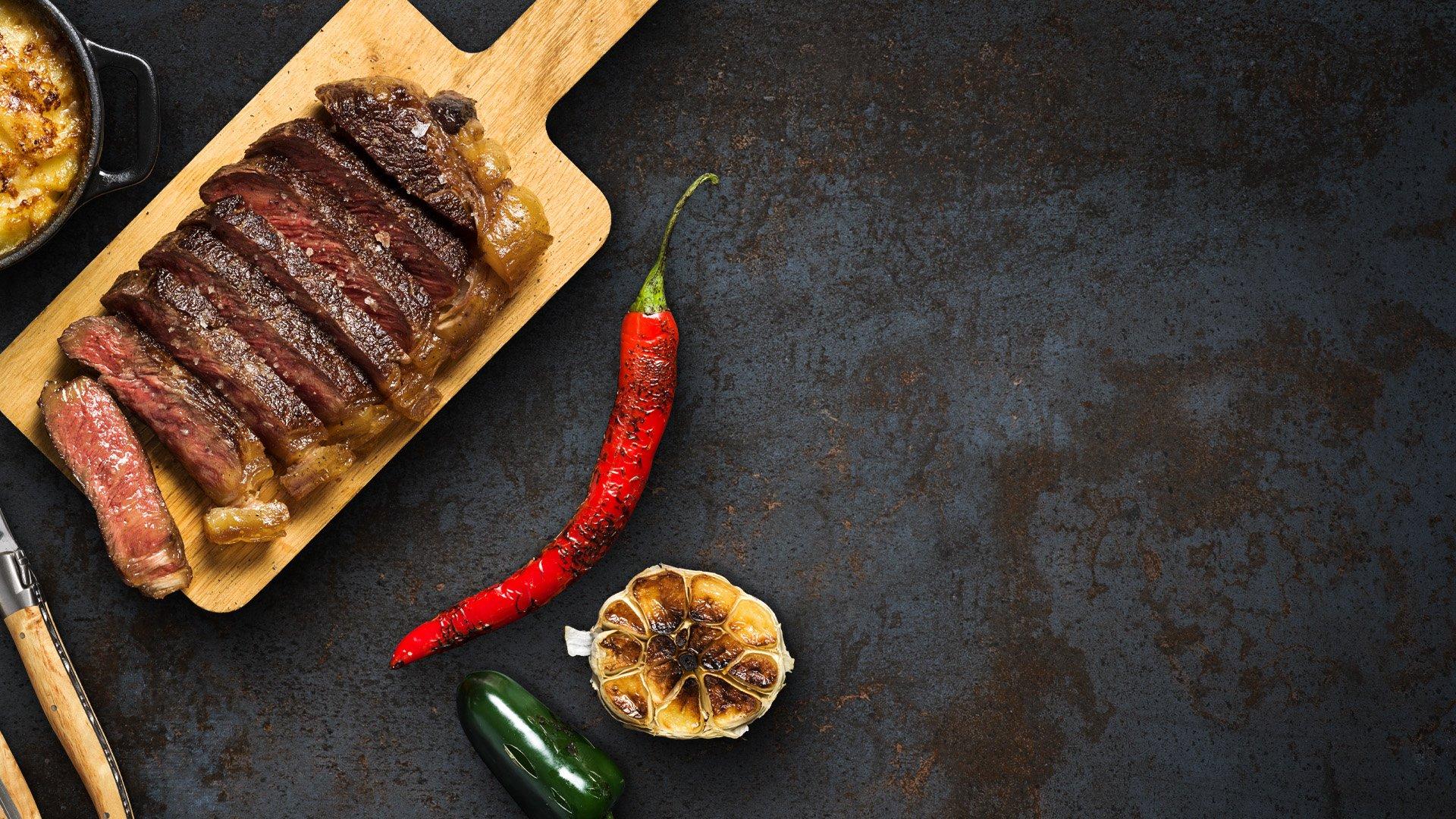 Bricka med kött från Närke Kött