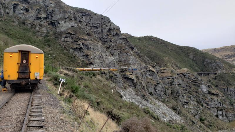 Dropped in the Gorge - the train will be back