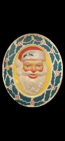 Santa Wreath photo