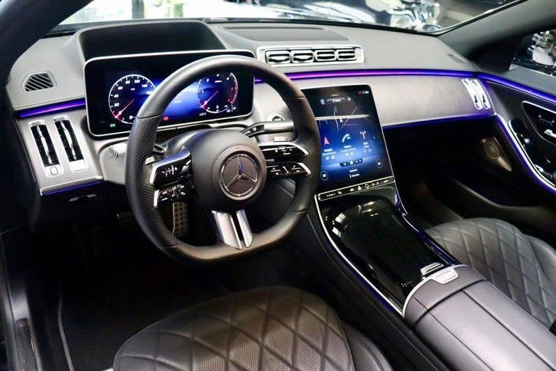 Mercedes-Benz S-Klasse 350d 4Matic Lang AMG Line  VOL Meedraaien as  afbeelding 10