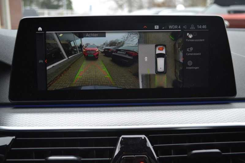 BMW 5 Serie 530i High Executive M-Sport / Pano Dak / ACC / Hud afbeelding 16