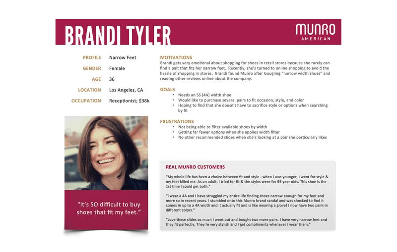 Brandi Tyler - buyer person