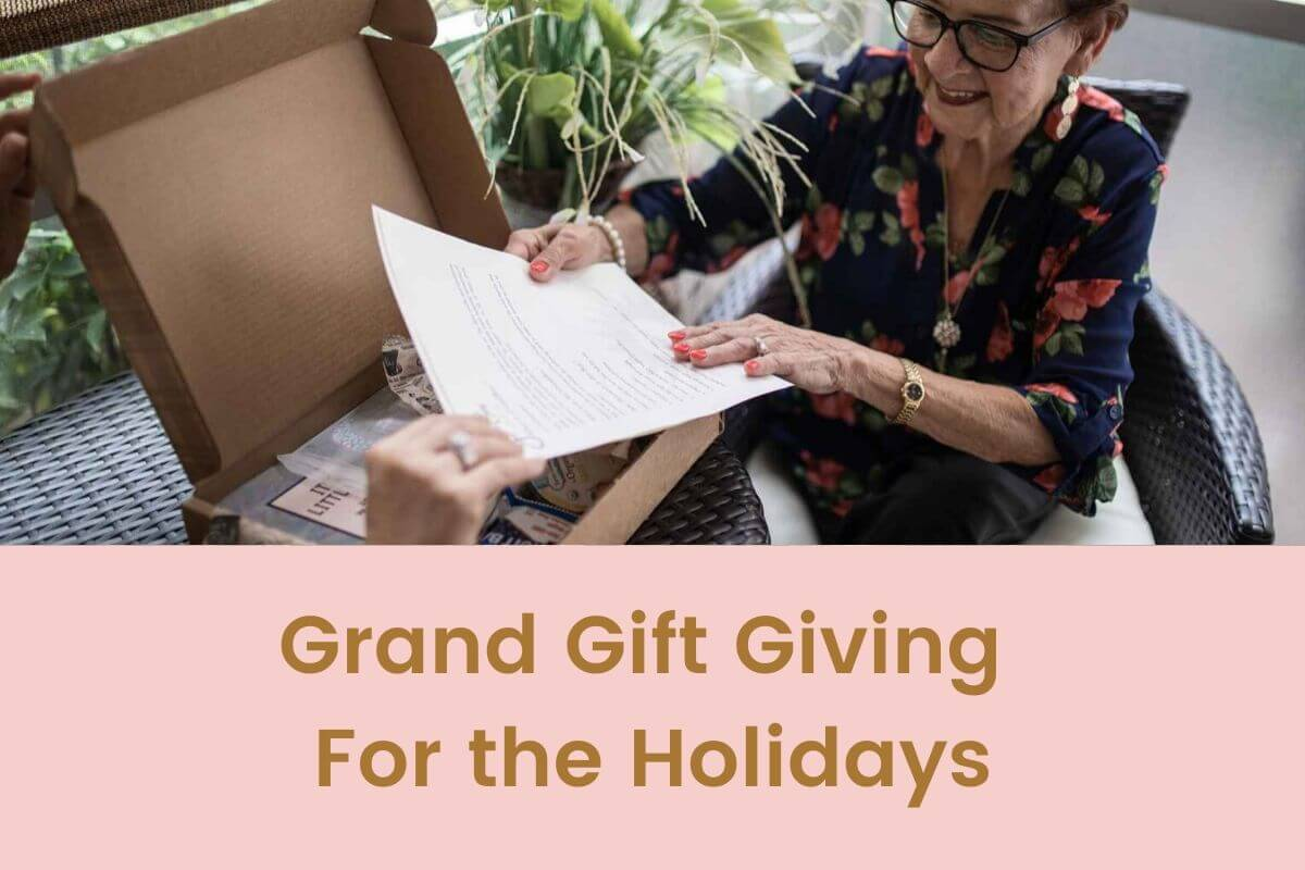 Grand Gift Giving For the Holidays- Featured Shot