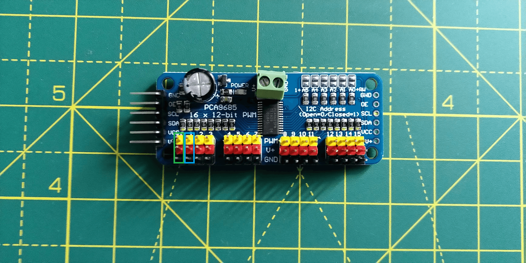 Photo of my ESC and wireless receiver