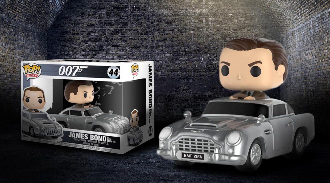 Aston Martin x Funk Pop James Bond