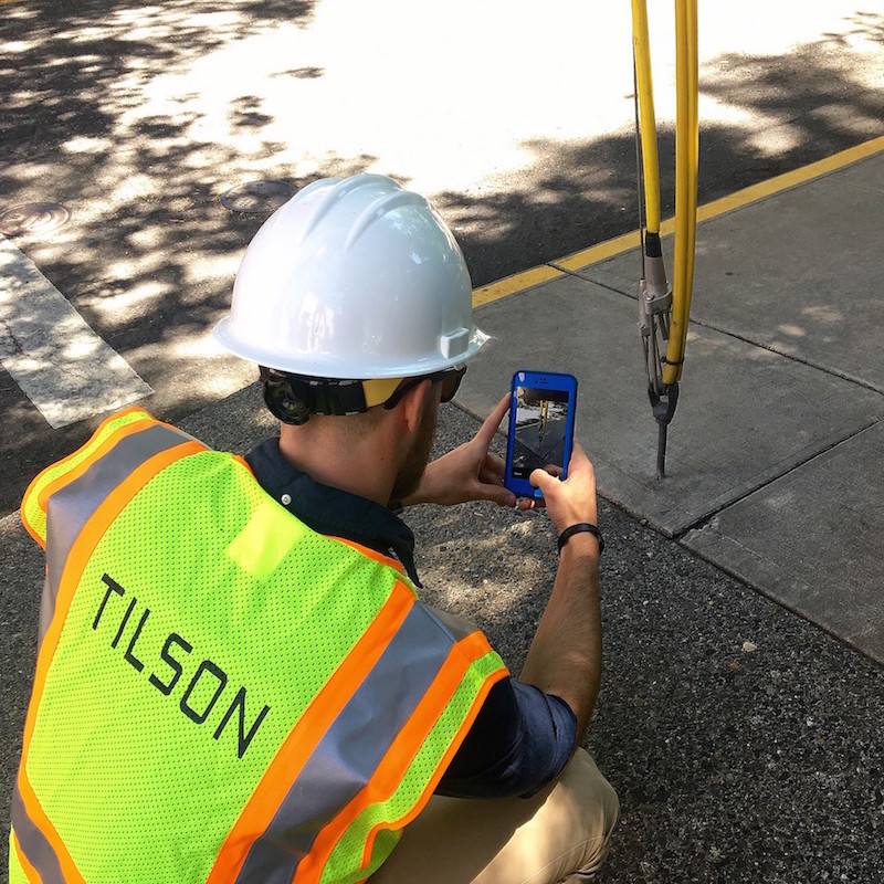Tilson capturing telephone polo inspection
