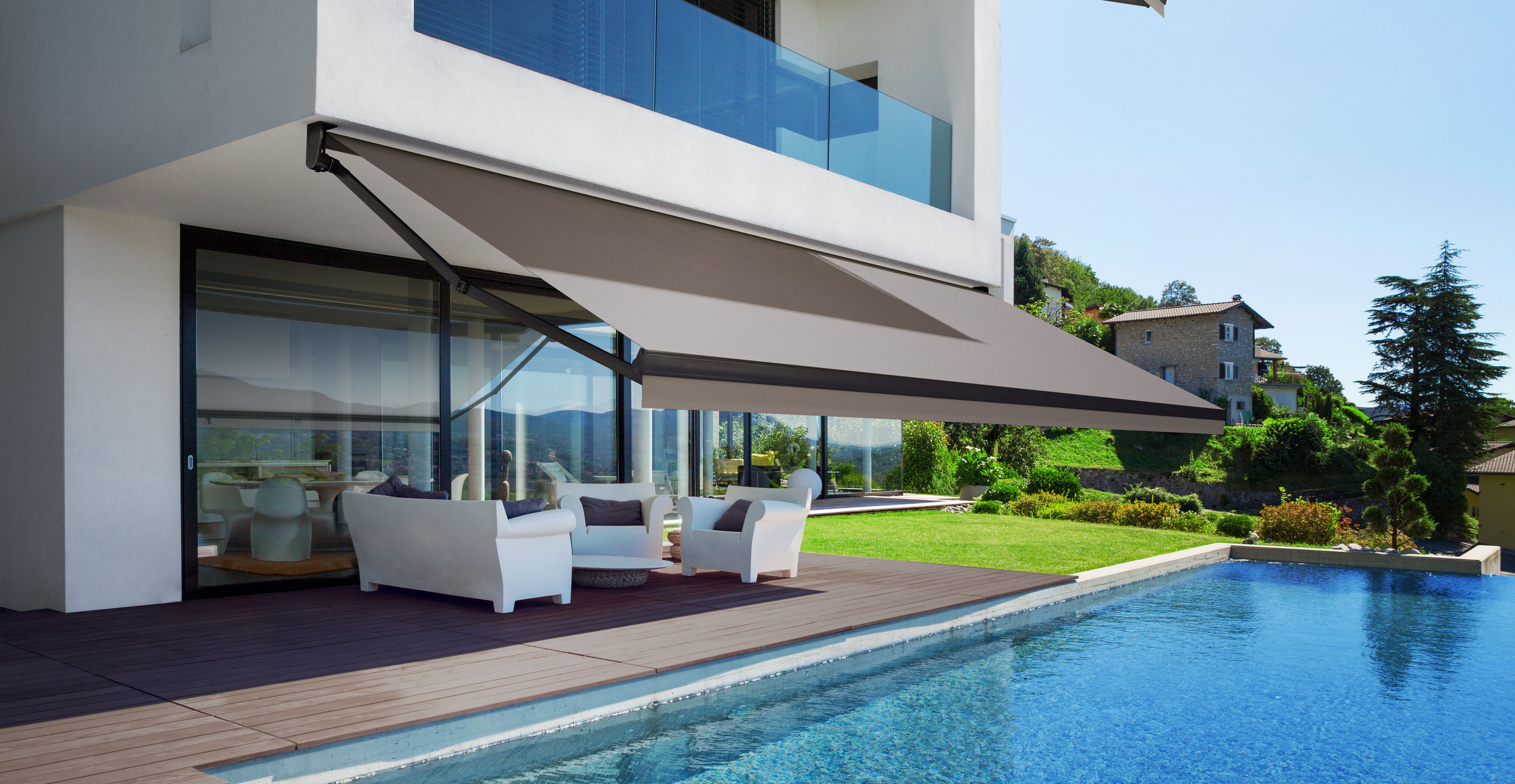 Retractable Awnings and Canopies | Manual and Motorized ...