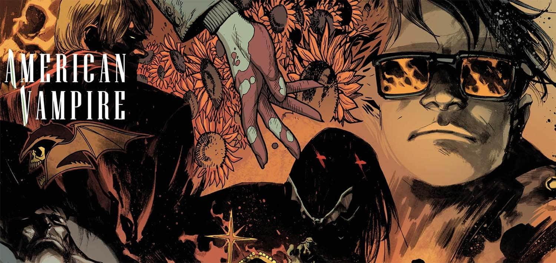 Imagem Promocional de Vampiro Americano de Scott Snyder da Vertigo