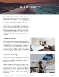 The Long Awaited Road to Recovery: Hotels, Airlines, and Consumers in Our Transitional Reality Left