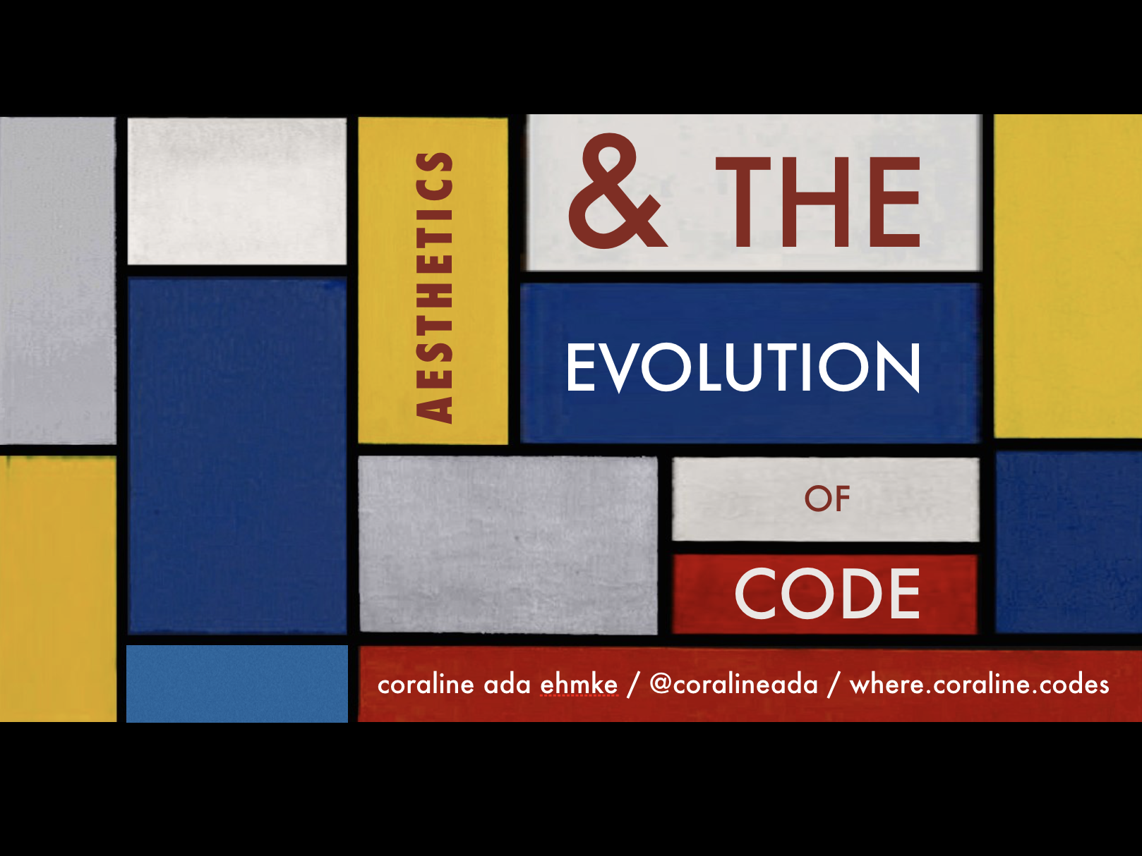 Aesthetics and the Evolution of Code