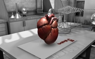 WebGL scene for HEART