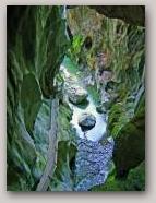 Gorges du pont du diable sub-glacial melt channel  » Click to zoom ->