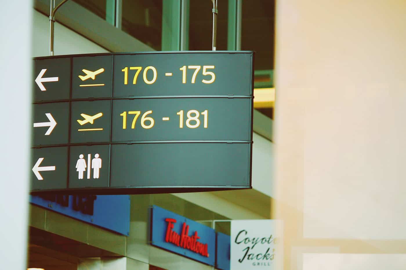 Airport signage photo by George Kourounis on Unsplash