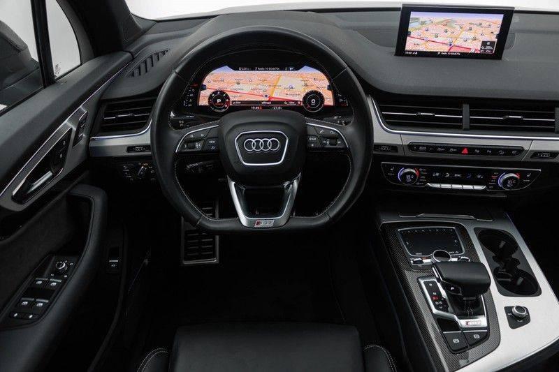 "Audi SQ7 4.0 TDI V8 Quattro 435pk 7 Pers. Panoramadak BlackOptic B&O NightVision Luchtvering ACC ValconaLeder+Memory Matrix Head-Up Navi-High Keyless Trekhaak 22"" Camera Pdc afbeelding 3"