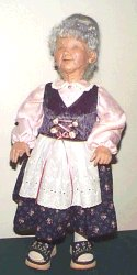 Hannah Old German Woman Doll