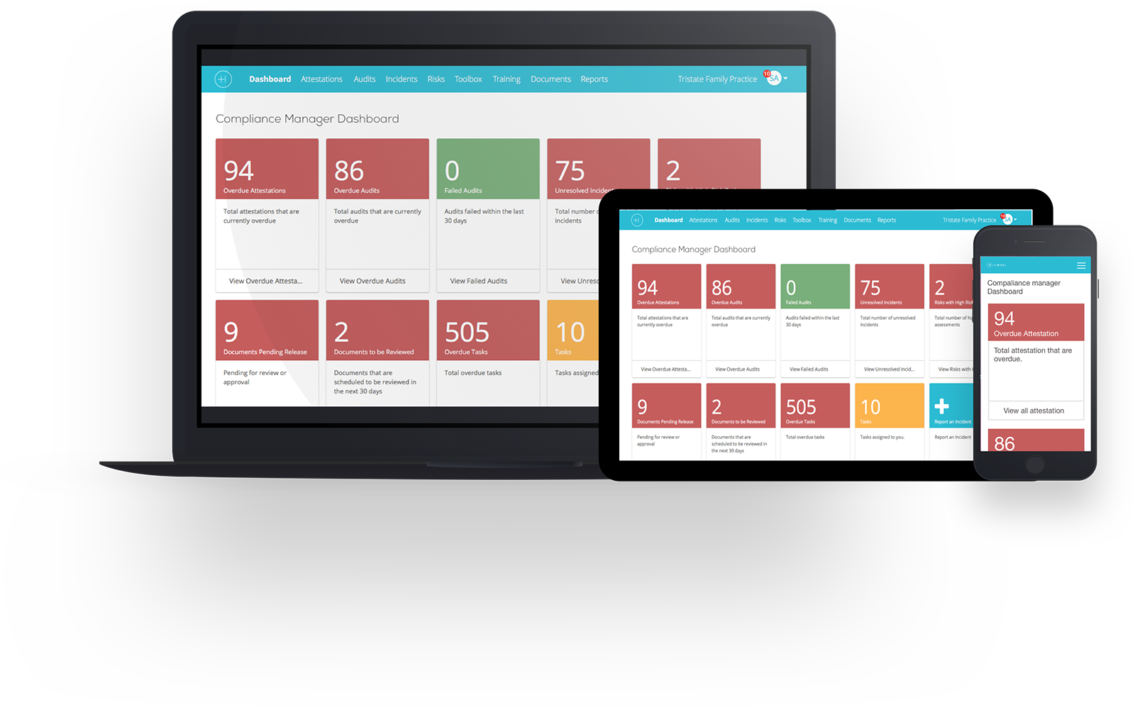 Compliance Manager Dashboard