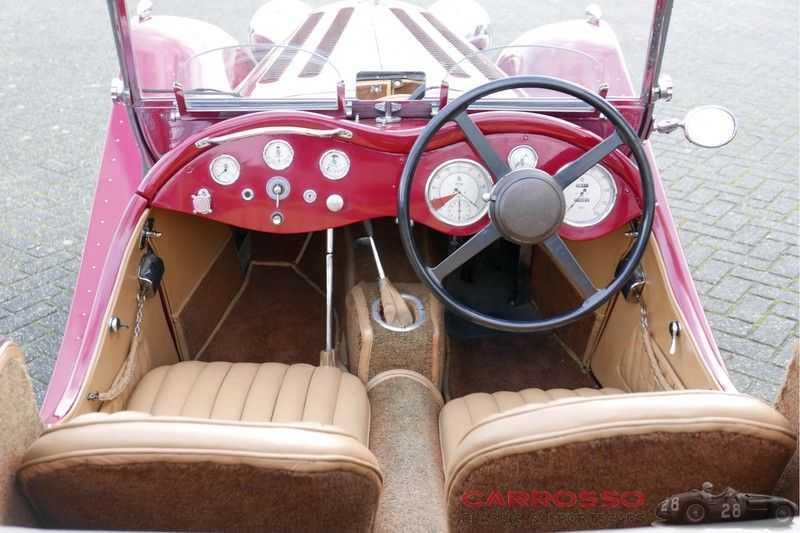 Jaguar SS100 3.5 Roadster / Heritage Trust Certificate / RHD afbeelding 23