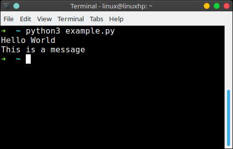 Text output | Python Tutorial
