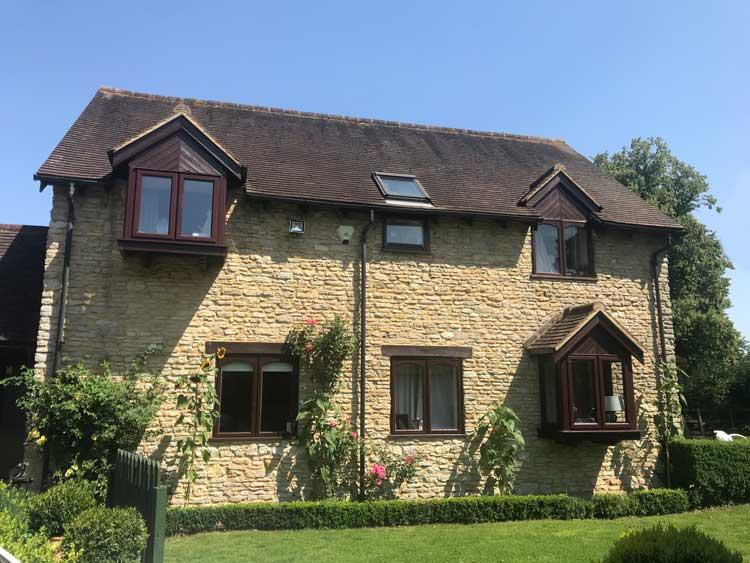 Modern barn conversion Oxfordshire
