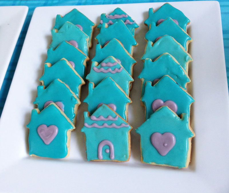Dollhouse Cookies
