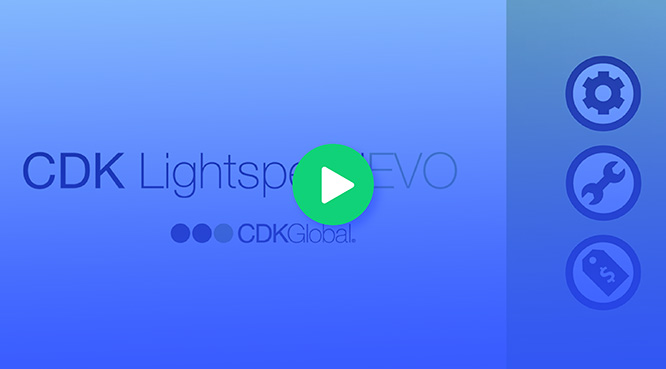 How does CDK Lightspeed EVO work?