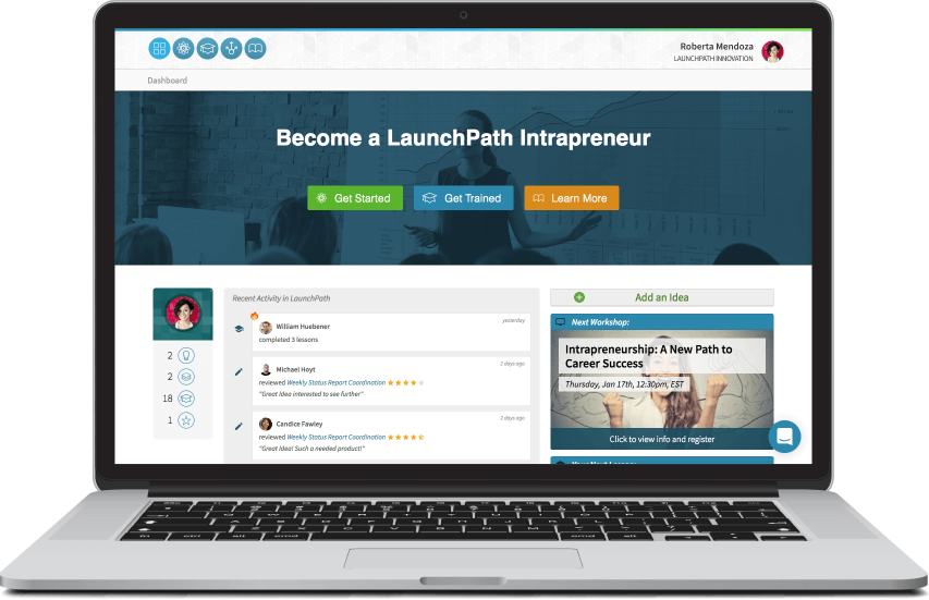 LaunchPath innovation management platform