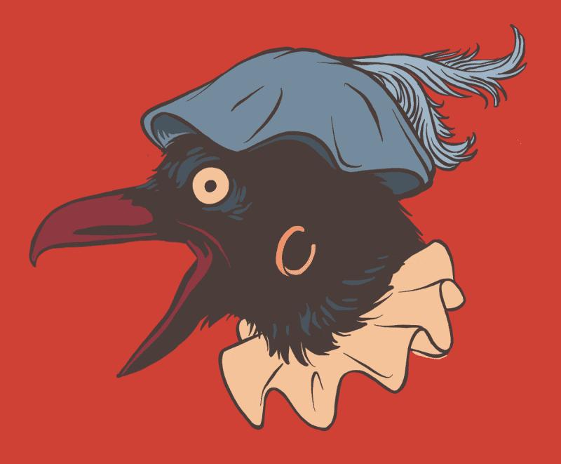 Odins ravens became Sinterklaas' slaves