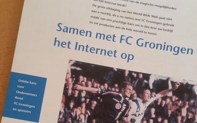 Throwback Thursday: Samen met FC Groningen het internet op